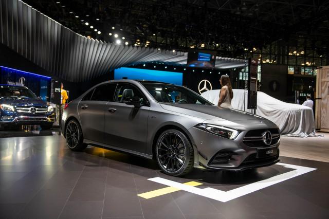 2020 Mercedes-Benz A35, 2019 New york International Auto Show