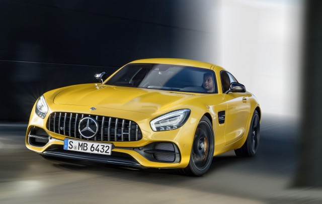 2018 Mercedes-AMG GT S
