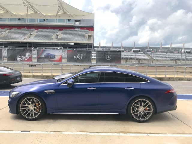 2019 Mercedes-AMG GT 63 S 4-Door Coupe, Circuit of the Americas, September, 2018