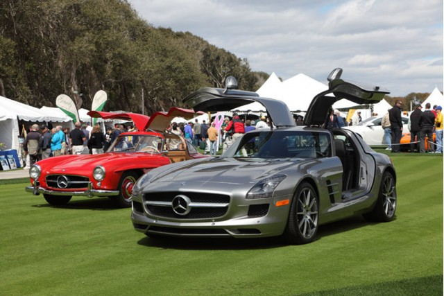 Mercedes-Benz at the 2010 Amelia Island Concours d'Elegance