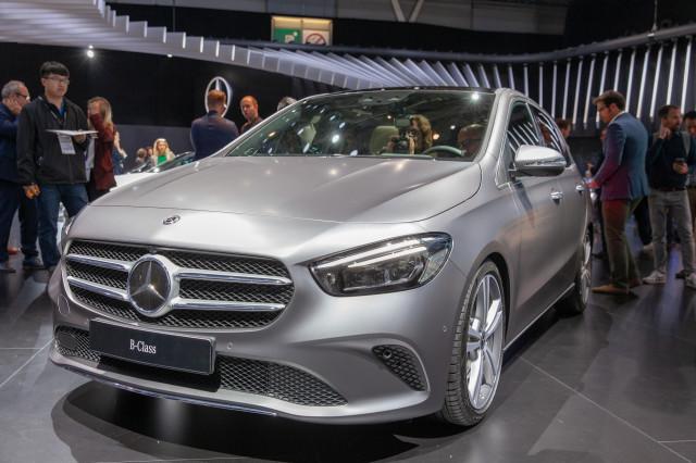 2019 Mercedes-Benz B200, 2018 Paris auto show