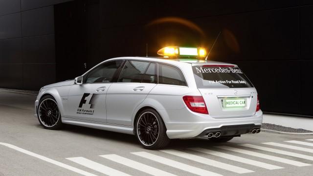 Mercedes-Benz C63 AMG Official Medical Car for 2012 Formula 1 season