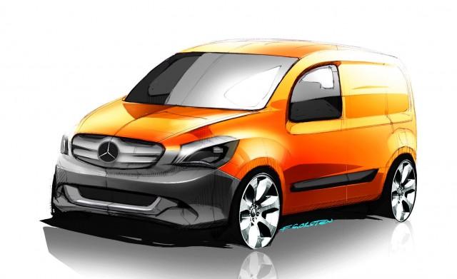 Mercedes-Benz Citan, small electric van in Europe
