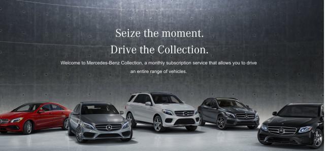 Mercedes-Benz Collection subscription