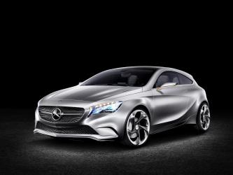 Mercedes-Benz Concept A-Class Preview