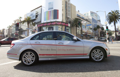 Mercedes Targets L.A. For First U.S. Teen Driving School