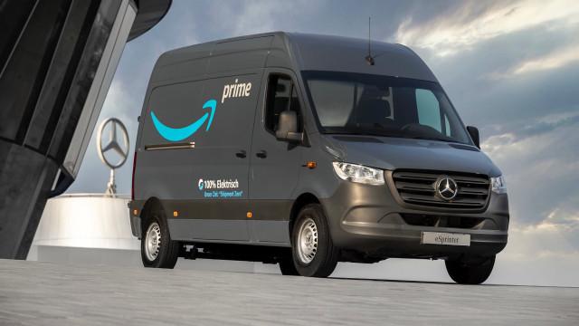 Mercedes-Benz eSprinter Amazon delivery van