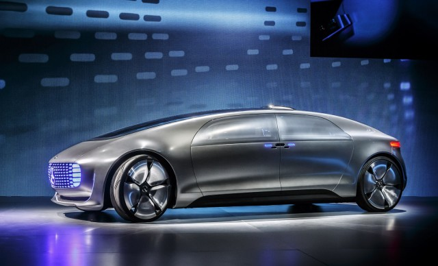 The Future Arrives Early With Mercedes Benz F015 Self Driving Car