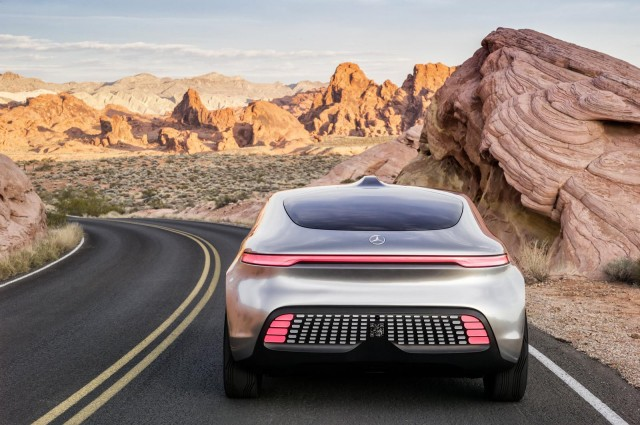 Mercedes-Benz F015 Luxury in Motion concept, 2015 Consumer Electronics Show