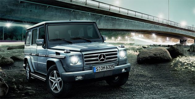 A few interior enhancements pair with the G-Class's proven design