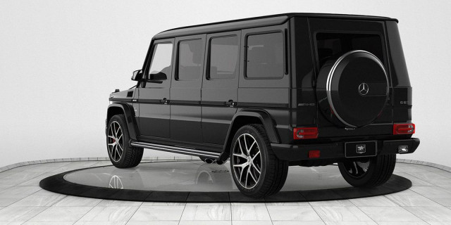 INKAS Mercedes-AMG G63 armored limo