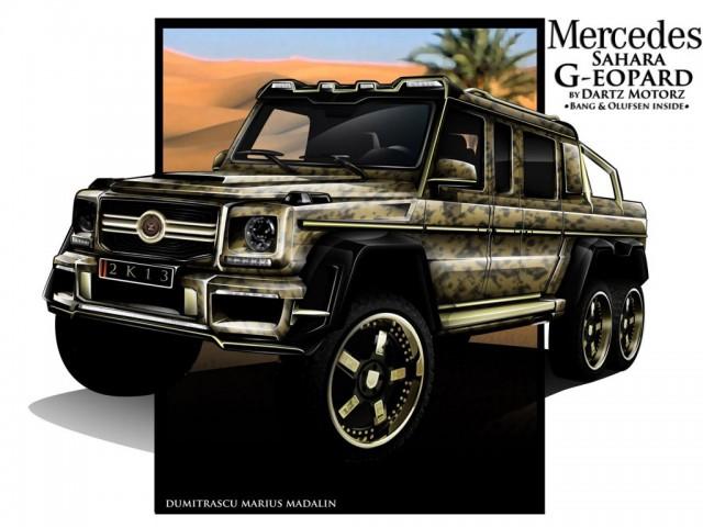 Mercedes-Benz G63 AMG 6x6 by Dartz