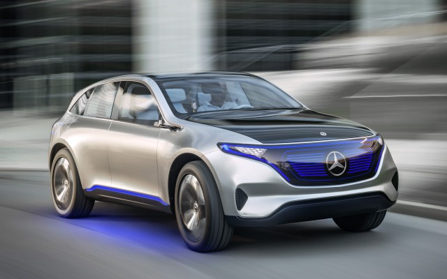 Mercedes-Benz Generation EQ concept, 2016 Paris auto show