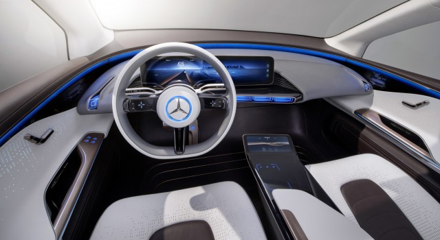Mercedes Benz Generation Eq Concept 2016 Paris Auto Show