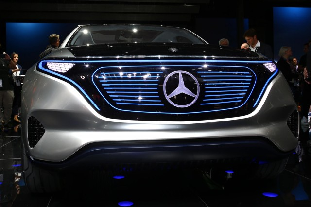 Mercedes To Show All-electric Hatchback Concept This Fall