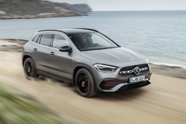 New 2021 Mercedes-Benz GLA250 crossover grows in size and price