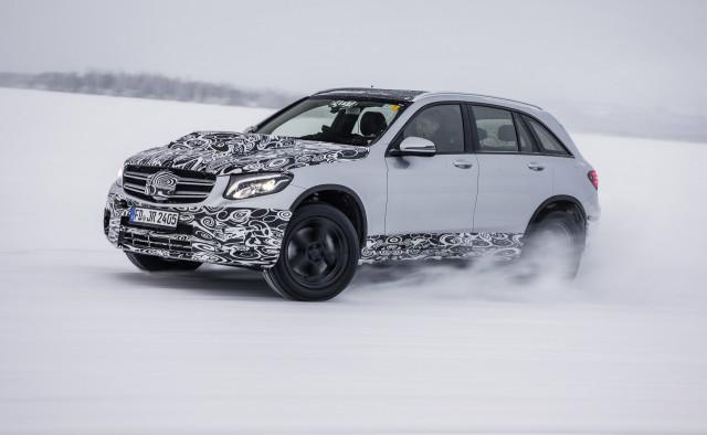 Mercedes-Benz GLC F-Cell development