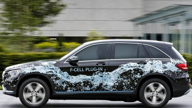 Mercedes-Benz GLC F-Cell prototype