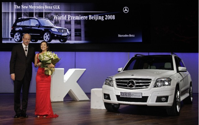 Mercedes-Benz GLK in Beijing 2008