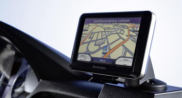 Mercedes Benz GPS navigation system