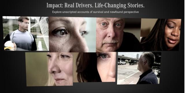 Mercedes-Benz 'Impact' campaign