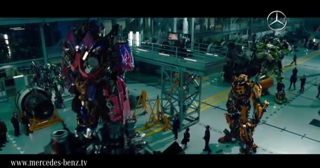 Transformers 3 Premieres In Berlin, Mercedes Gets A Role: Video