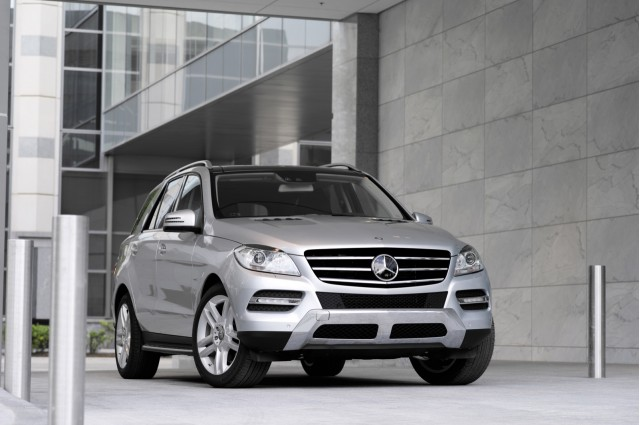 2012 Mercedes-Benz M-Class ML350 - U.S. spec