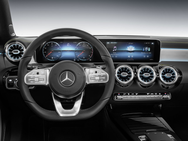 Mercedes-Benz MBUX user interface