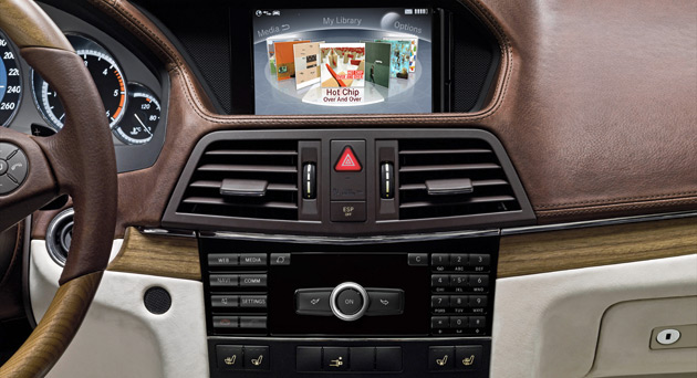 The new myCOMAND system will offer drivers a range of different internet services