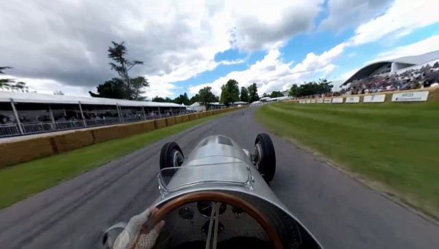 Mercedes-Benz releases 360 degree video footage from Goodwood