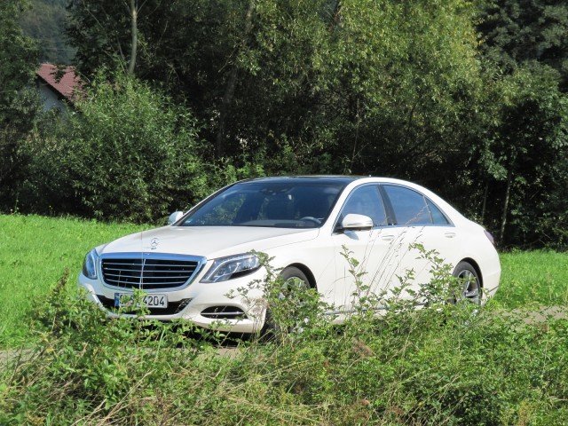 2016 Mercedes-Benz S550 Plug-In Hybrid, U.S. pre-production car tested, Stuttgart, Germany, Aug 2014