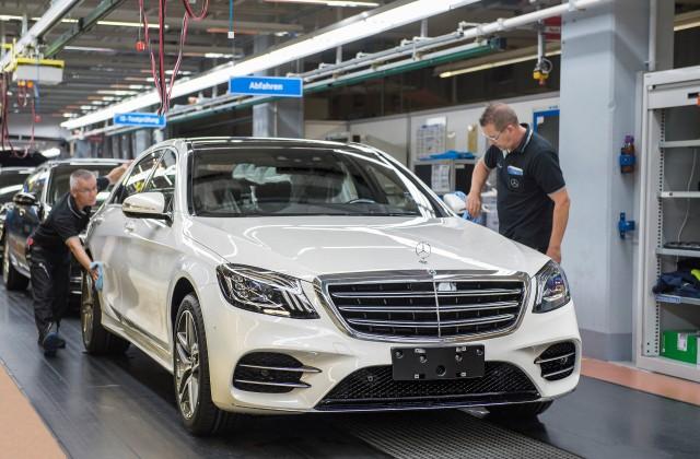 2018 Mercedes-Benz S-Class production