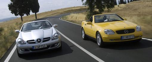 Mercedes-Benz sells 500,000 SLK convertibles