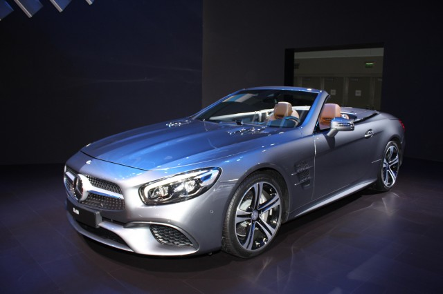 2017 Mercedes-Benz SL450, 2015 Los Angeles Auto Show
