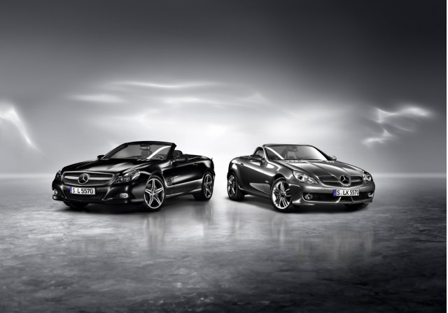 Mercedes-Benz SLK Grand Edition and SL Night Edition