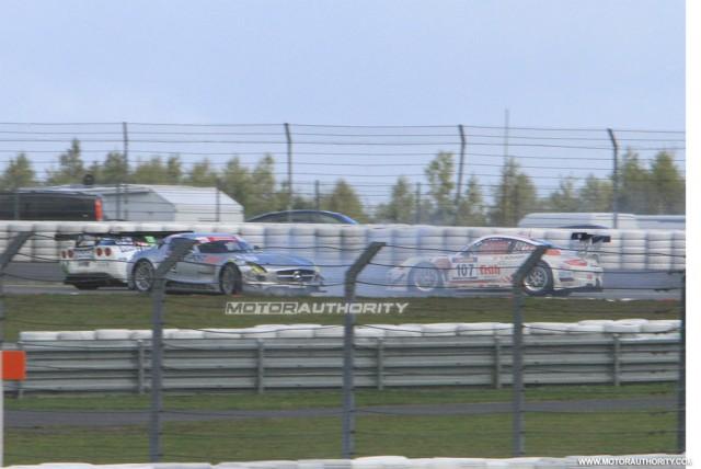 Mercedes-Benz SLS AMG GT3 crash