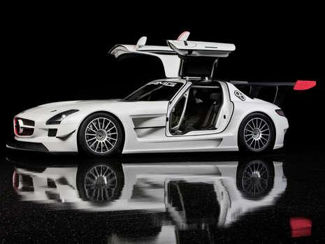 Mercedes-Benz SLS AMG GT3 race car leak