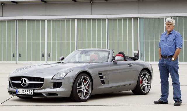 Jay Leno tests the 2012 Mercedes-Benz SLS AMG Roadster