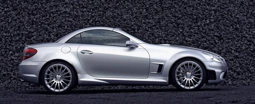 Mercedes Benz Updates The Slk 55 Amg Black Series