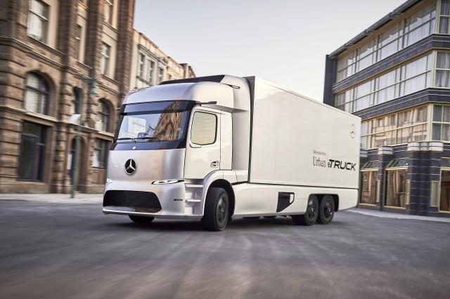 Mercedes-Benz Urban e-Truck concept [photo: Axel Harries]