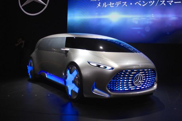 Mercedes-Benz Vision Tokyo Concept - 2015 Tokyo Motor Show live photos