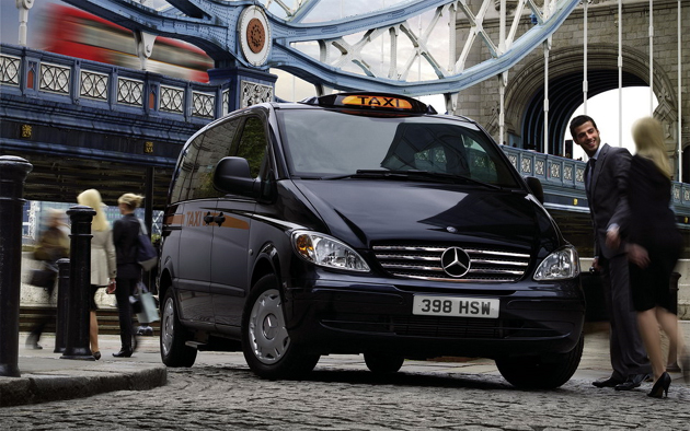 Mercedes-Benz Vito taxi from Eco City Vehicles PLC