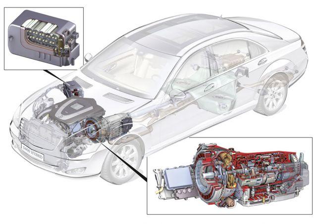 2009 Mercedes-Benz S400 Hybrid