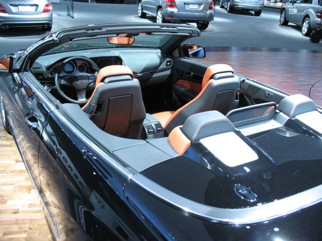 Head protection tech will help keep convertibles safe for Mercedes benz technical support