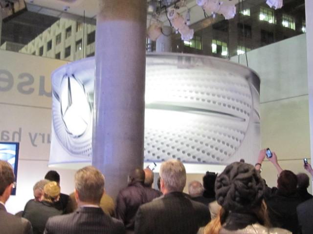 Mercedes-Benz Concept A-Class, at new Mercedes-Benz Manhattan showroom, April 2011