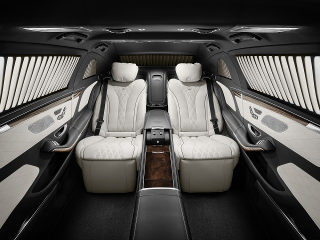 2017 Mercedes-Maybach S600 Pullman Guard