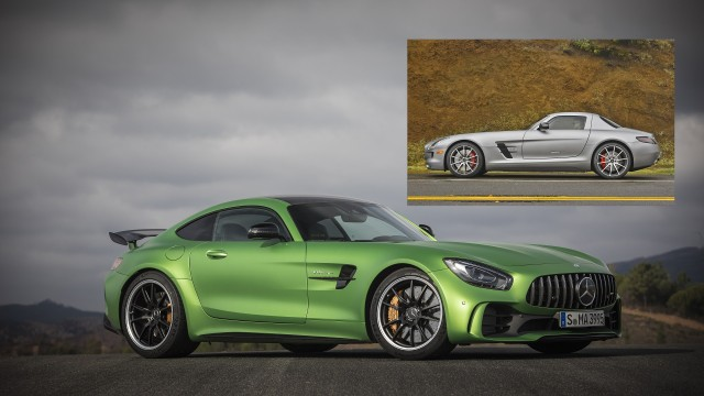 How The Mercedes Benz Sls Amg Evolved Into The Mercedes Amg Gt