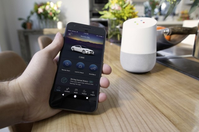 Mercedes-Benz adds Google Home support