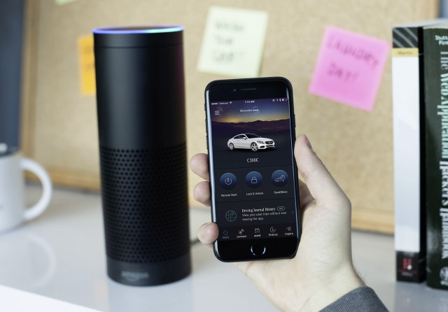 Mercedes-Benz adds Amazon Alexa support