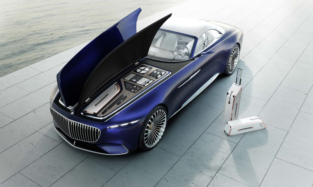 Vision Mercedes-Maybach 6 Cabriolet concept: does this hood make me ...